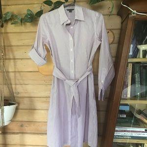 Brooks Brothers pinstripe dress. Size 4